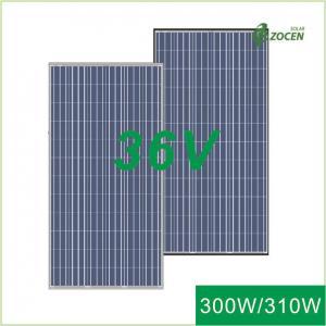 Wholesale 300Wp  / 305Wp / 310Wp Big Mono Solar Panels ISO9001 Certified White EVA from china suppliers