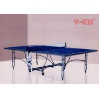 Wholesale New Design Double Foldable Table Tennis Table More Stable For Indoor Recreation from china suppliers