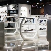 Wholesale Beautiful retail lady shoe shop design with customized size from china suppliers