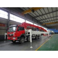 Wholesale LNG Engine 37m 8x4 FAW 380HP Concrete Pump Trucks with RHD Type from china suppliers