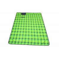 Wholesale 1.5*2*0.05m Green Color Outdoor Picnic Set With Fleece Material from china suppliers