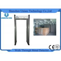 Wholesale Manufactured security walk through metal detector with 6 independent zones LED screen from china suppliers