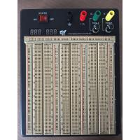Wholesale 2420 Points Colored Coordinates Brown Power Supply Breadboard With Metal Case from china suppliers