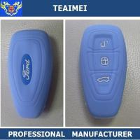 Wholesale Fancy Colorful BLUE Remote Silicone Car Key Case For Ford Mondeo from china suppliers