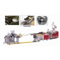 Wholesale PP EVA PVC Single Wall Corrugated Pipe Extrusion Line / PE Pipe Extrusion Machine from china suppliers