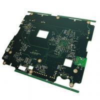 Wholesale FR4 Tg180 6 layer Power Supply PCB Minimum Trace / Space 0.1mm from china suppliers