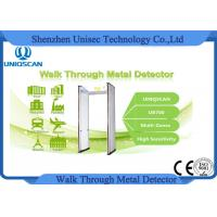 Wholesale Multi Zones Security Gate Walk Through Metal Detector UB700 4KHZ - 8KHZ from china suppliers