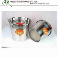 Buy cheap Promotion Stainless Steel Bucket many different size 30cm 32cm 34cm 36cm 10L 12L 14L 16L 20L S/S201 from wholesalers