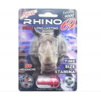 Wholesale 3D Version Rhino 69 Extreme 9000 Male Enhancement Capsules from china suppliers