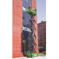Wholesale Green 10m Self Propelled Scissor Lift With Hydraulic Motor Driving from china suppliers