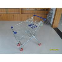 Wholesale Big 100L Grocery Cart For Supermarket Shopping Carts With Anti-UV Plastic Parts from china suppliers