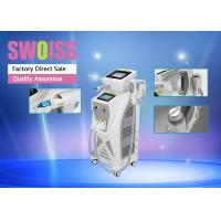 Wholesale 3 In 1 Nd Yag Laser Hair Removal Machine , Yag Tattoo Removal Machines Long Lifespan from china suppliers