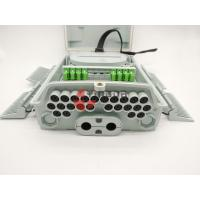 Buy cheap Pole & Wall Mounted Fiber Optic Distribution Box 24 Ports with 1x16 PLC Splitter IP65 from wholesalers