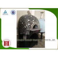 Wholesale Round Top Italy Commercial Pizza Oven Gas Heating For Indoor , Outdoor from china suppliers