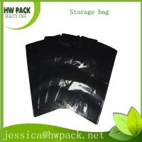 Wholesale black aluminum foil storage bag from china suppliers