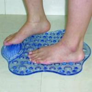 China brush shape bath mat on sale
