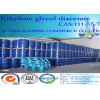 EGDA Ethylene Glycol Diacetate CAS 111-55-7 C6H10O4 For Foundry Resin / Paint Solvent