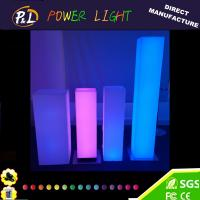 Wholesale Garden Plastic Furniture LED Light up Pillar Lamp from china suppliers