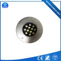 Wholesale IP68 Waterproof High Brightness DC12V Unerwater 12W Stainless Steel LED Fountain Light for Swimming Pool from china suppliers