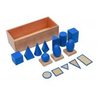 Wholesale Tiger Montessori -  Geometric Solids with Stand, Bases, and Box of beech wood from china suppliers