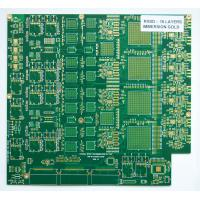 Wholesale FR4 / Non-halogen HASL pcb bare board 0.8mm , 1OZ copper thickness from china suppliers