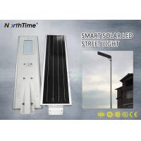 Wholesale New Design 30W 26AH Integrated Solar Street Light with IP Camera For Parking Lots from china suppliers
