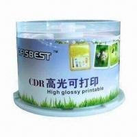 Wholesale Highlight Printable CD-Rs with New Material, Best UV and Heat-resistant from china suppliers