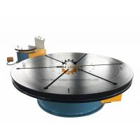Wholesale 8 Ton Floor Small Welding Turntables  , Rotary Welding Table  For Welding / Polishing / Mounting from china suppliers