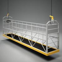 Wholesale Safety zlp630 Window Cleaning Platform / cradles with LTD5 , LTD8 Electric hoists from china suppliers