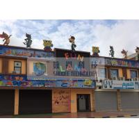 Wholesale Fun Land 5D Movie Theater With Playground Equipment , Children Garden from china suppliers