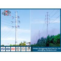 Wholesale 110KV Tubular Steel Transmission Poles Certificated High Strength from china suppliers