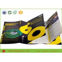 Wholesale Eco Friendly Business Brochure Printing , 200Gsm Coated Paper Color Catalog Printing from china suppliers