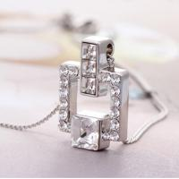 Wholesale Ref No.: 105076 Princess diamond girls birthstone necklace jewellery fashion online jewelry from australia from china suppliers
