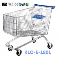 Wholesale Small 80L UK Supermarket Shopping Cart / Ladies Shopping Trolleys from china suppliers