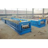 Wholesale Metal Floor Deck Cold Roll Forming Machine for Thickness 1.5mm 22KW from china suppliers