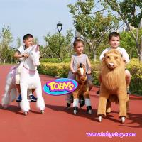 Tobys Pony Cycle Ride on horse toy with wheels