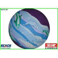 Wholesale Outdoor Colored Rubber Basketballs Size 6 with CMYK Full Printing from china suppliers
