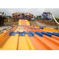 Wholesale 8 Lines Fiberglass Water Slide And Super Octopus Spiral Racer Water Slide For Huge Water Park from china suppliers