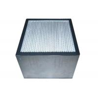 Quality Deep Pleated Vacuum Hepa Air Purifiers Filters With Aluminum Frame for sale