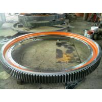 Wholesale Precision Cast Steel Heavy Duty Gears , Rotary Kiln Girth Gears from china suppliers