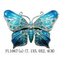 New Products Metal Butterfly Custom Jewelry Box