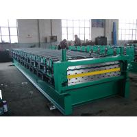 Buy cheap Step Tile Roof Double Layer Roll Forming Machine High Speed 15 m/min from wholesalers