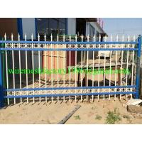 Wholesale iron barrier fence from china suppliers