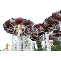 Wholesale Adult Fiberglass Water Slide Galvanized Carbon Steel Frame King Cobra Slide for Water Park from china suppliers