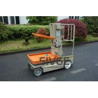 Wholesale 3.1 Meter Self Propelled Electric Work Platform Lifts For Cargo Handling from china suppliers