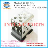 Wholesale 90559834 90-559-834  auto ac Heater Resistor Rheostat for  Vauxhall Zafira A Opel Astra from china suppliers
