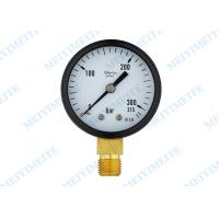 "Wholesale 2"" Movement brass connection general pressure gauge for  Air , oil , gas and water from china suppliers"