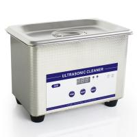 Wholesale 0.8L Heated Ultrasonic Eyeglass Cleaner Stainless Steel Dental Ultrasonic Cleaner from china suppliers