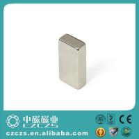Wholesale Customized Neodymium NdFeB Permanent Magnets Block Nickel Coating from china suppliers