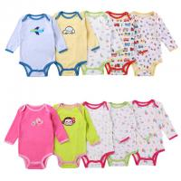 Wholesale Fashion Cute Newborn Baby Clothes Elegant Toddler Cotton Romper Super Soft from china suppliers